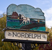 Nordelph Village Chruch Sign